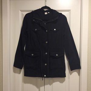 Woman's black utility jacket by BP